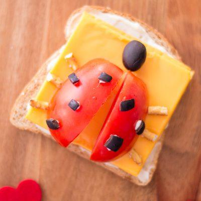 fun open-faced sandwich recipe kids