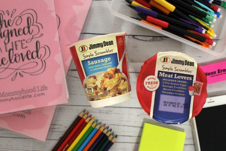 Busy Moms Still Need Breakfast: My Mornings always include Jimmy Dean Simple Scrambles®!