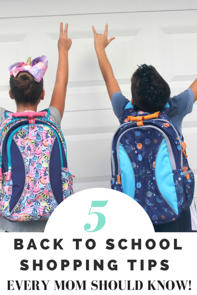 Back to school shopping tips moms should know