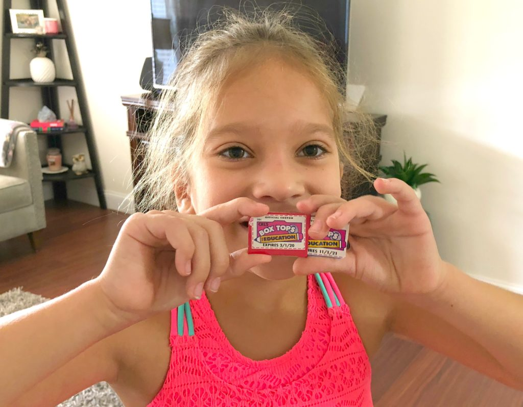 Bonus Box Tops Fast for Back to School