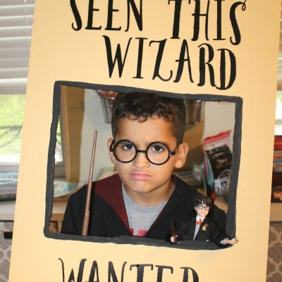 harry Potter dolls wizard wanted sign DIY