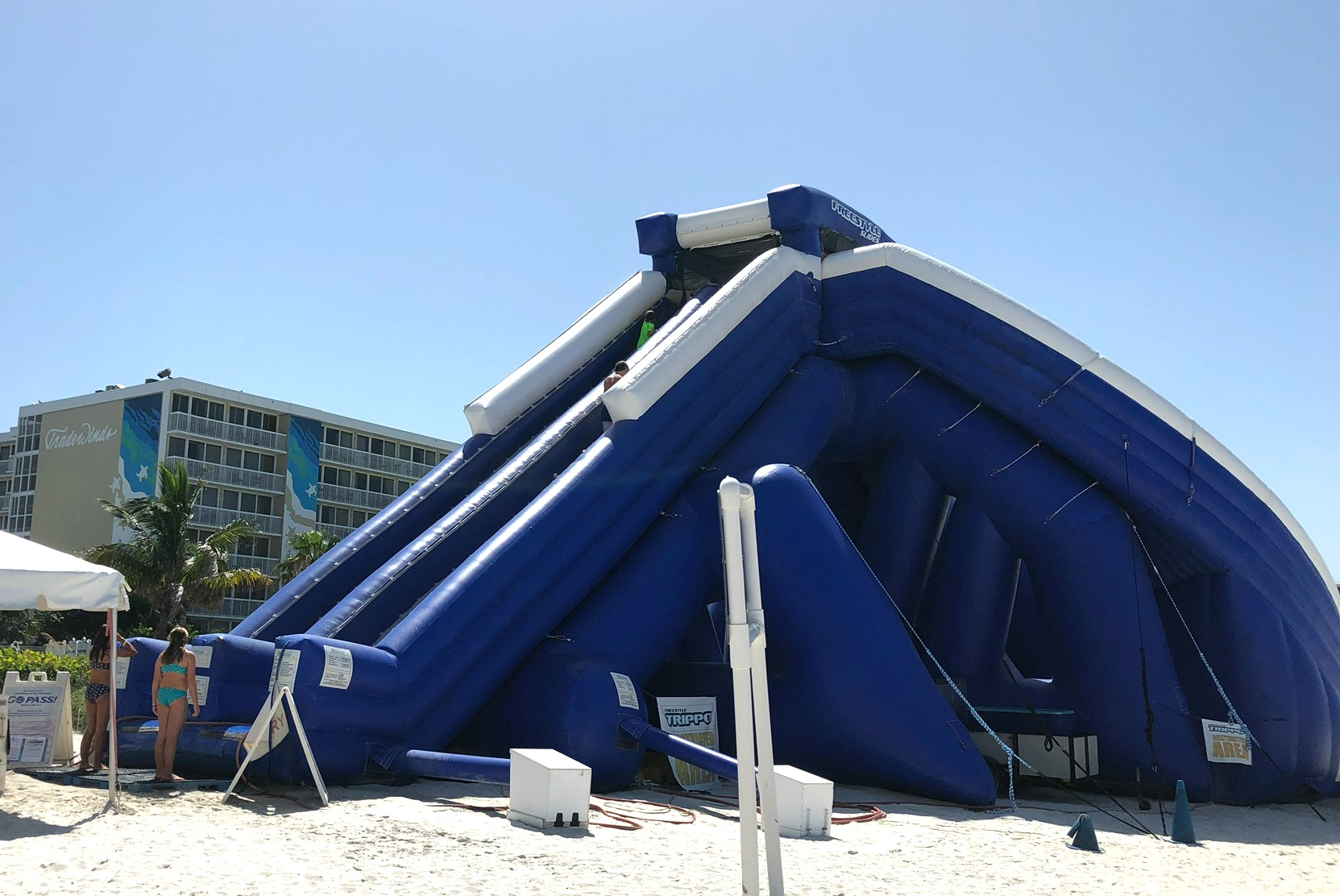 TradeWinds Island Grand Resort High Tide Slide