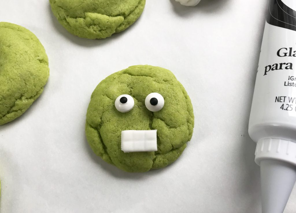 Hulk Cookies Face Recipe