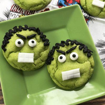 Crinkle Hulk Cookies Theme