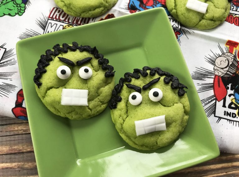 Incredible Hulk Cookies Recipe – SuperHero Themed Cookies