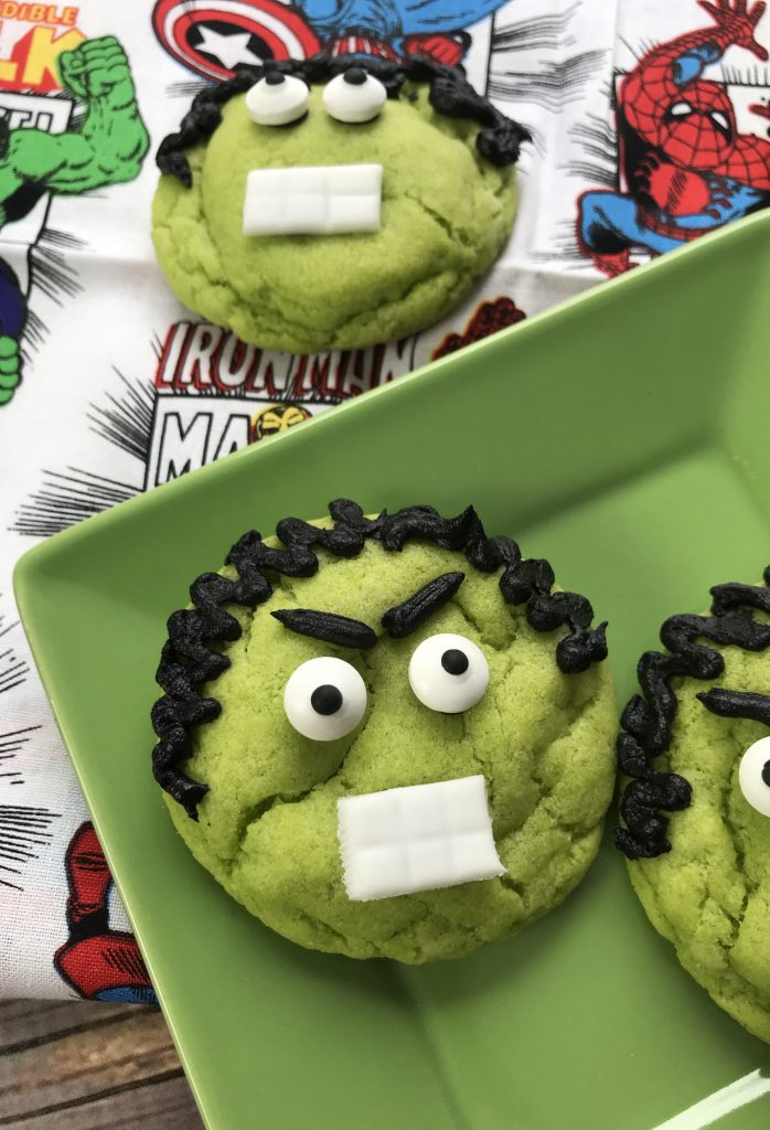 Superhero Inspired Hulk Cookies Recipe