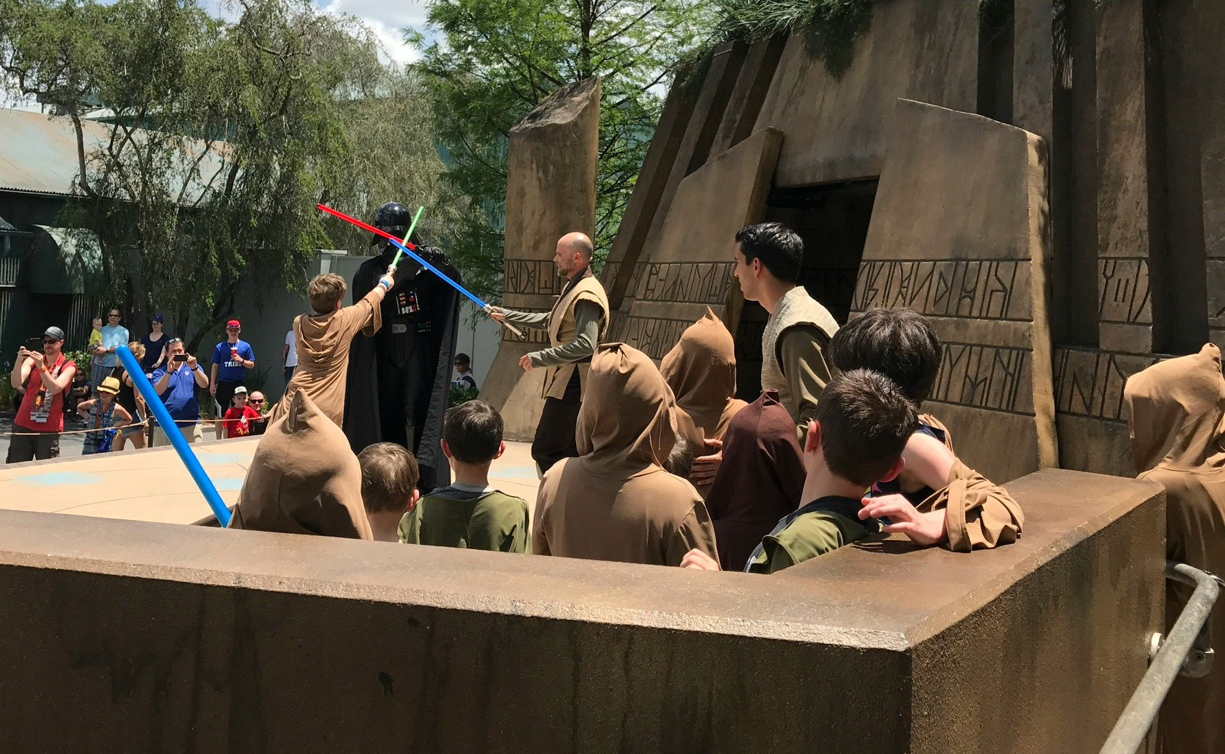 Jedi Training Academy Star Wars at Disney World