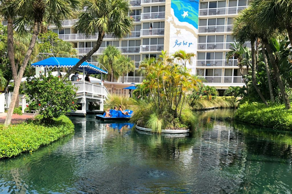 TradeWinds Island Grand Resort Paddle Boats