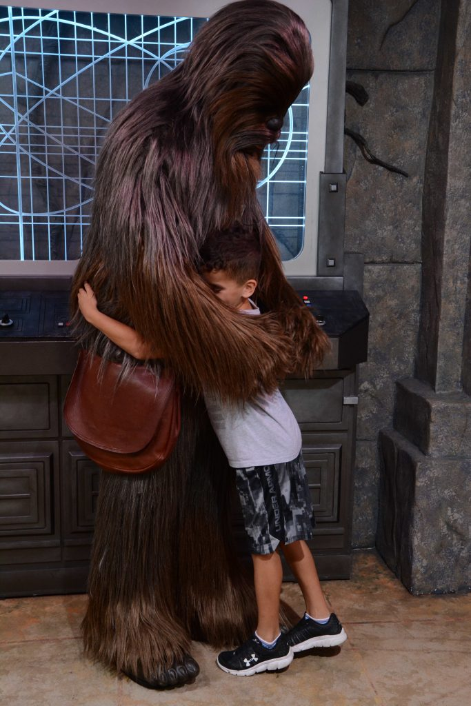 Meet Chewbacca at Disney World Hollywood Studios