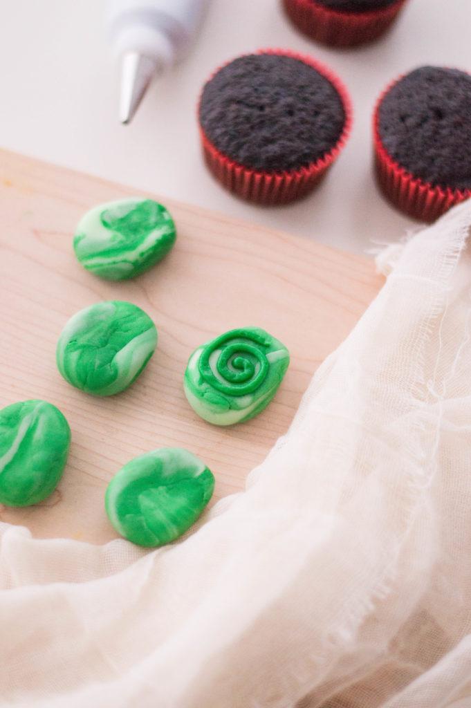 Moana Cupcakes Heart of Fiti