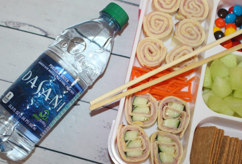 Back to school lunch sushi recipe