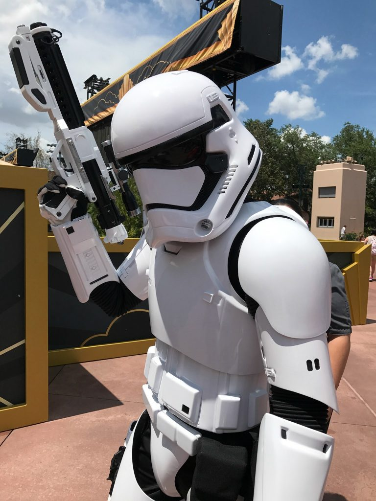 Storm Trooper March Star Wars at Disney World