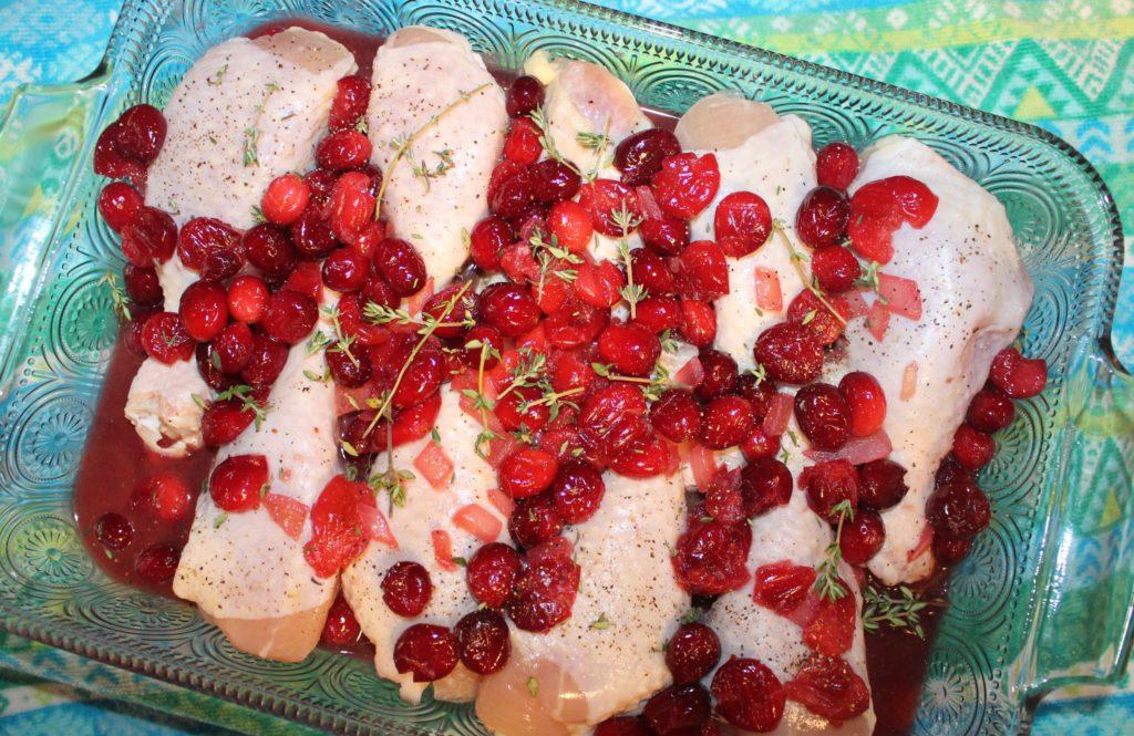 thanksgiving chicken dish recipe