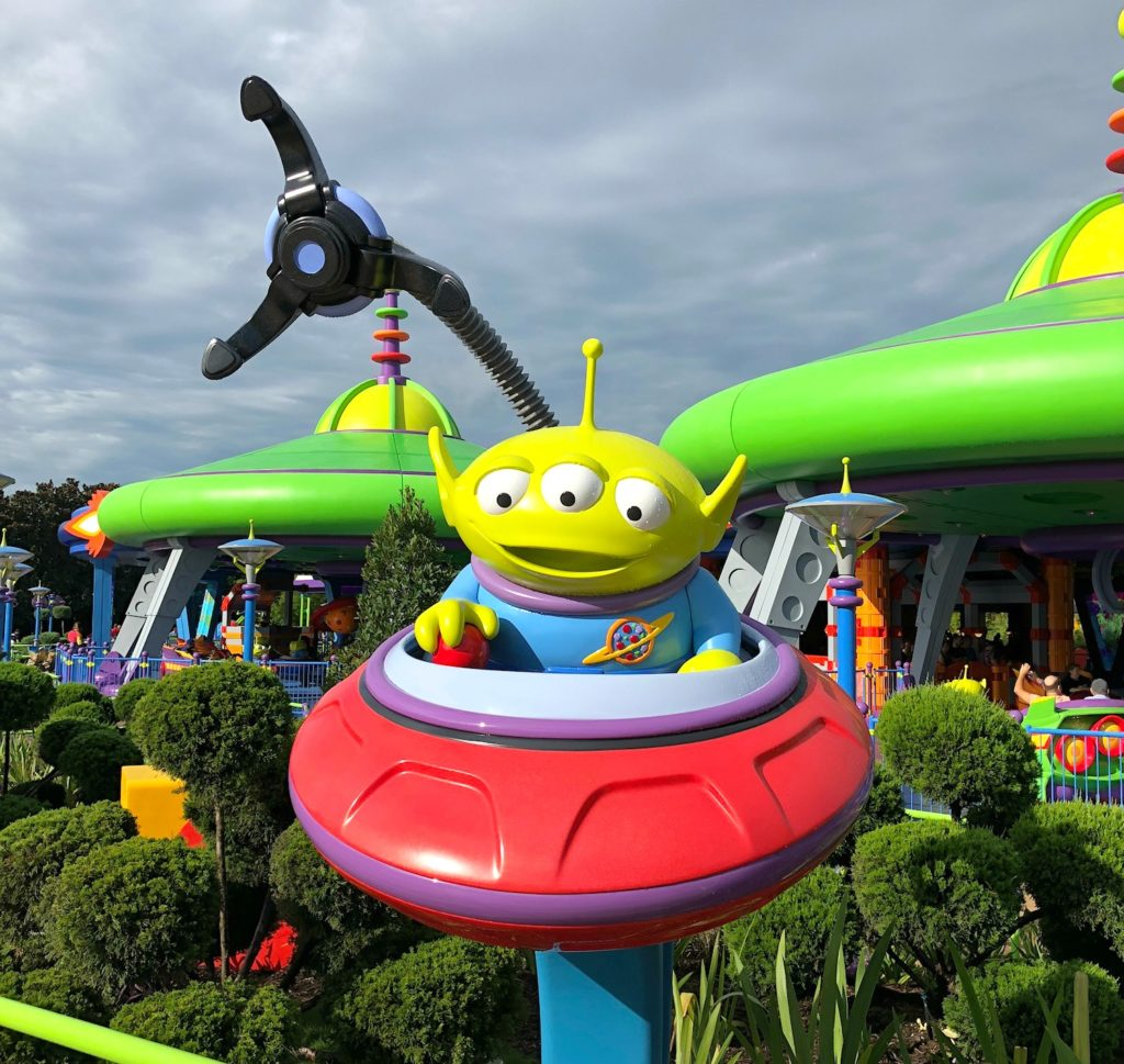 Toy Story Land Rides Alien Saucers