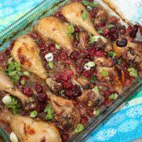 Cranberry Chicken Thighs Recipe