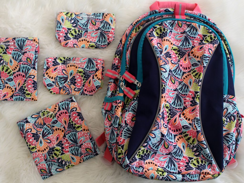 back to school shopping girls backpacks