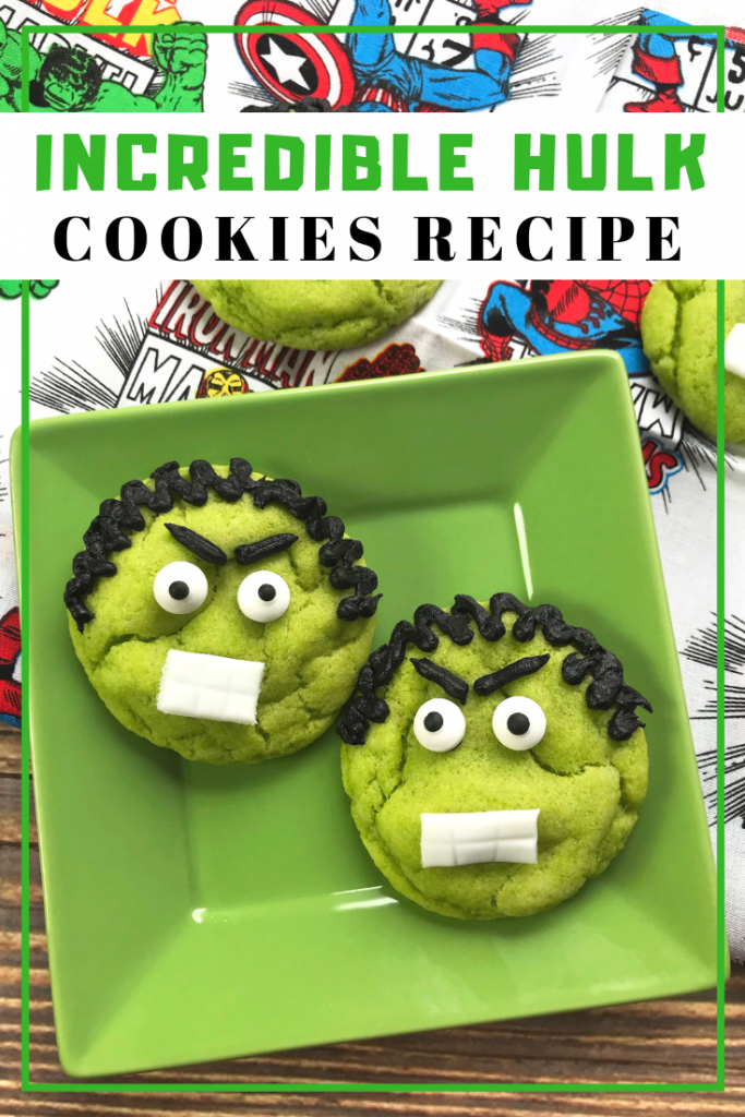 Hulk Cookies Recipe