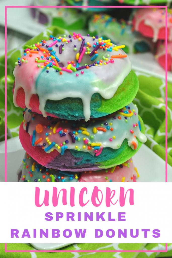 Rainbow Unicorn Donuts Recipe