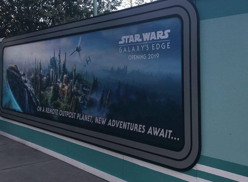 Star Wars Galaxys Edge at Disney World
