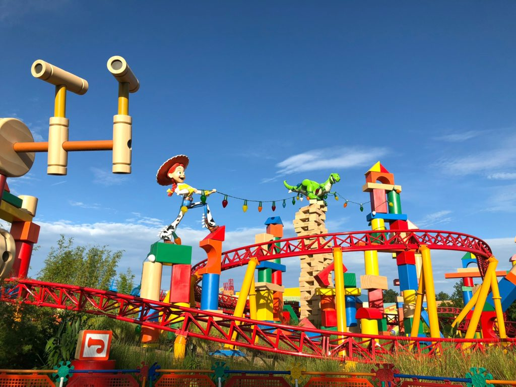 Toy Story Land Rides