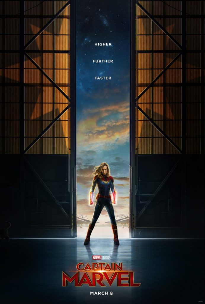 Captain Marvel Poster and Trailer