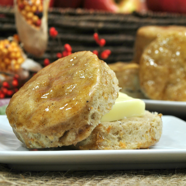 Homemade Cinnamon Apple Biscuits Recipe