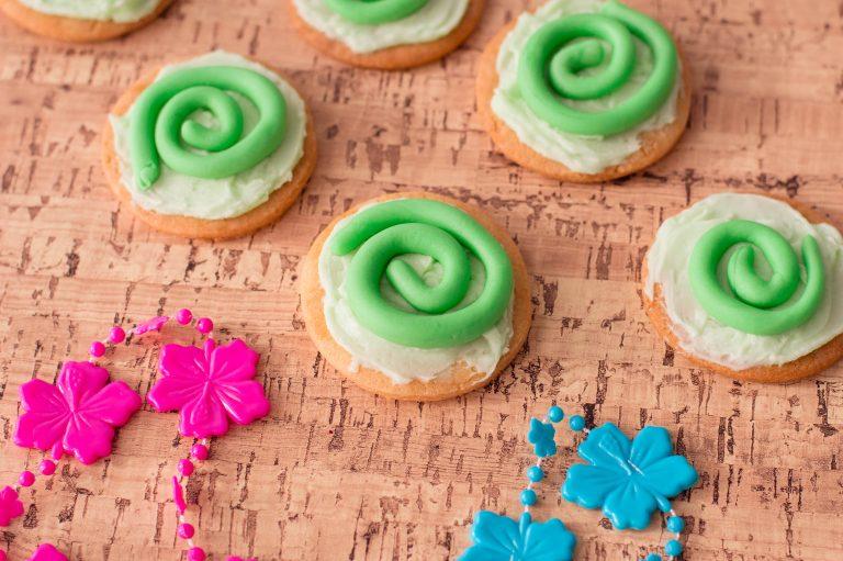 Heart of Te Fiti Inspired Moana Cookies Recipe