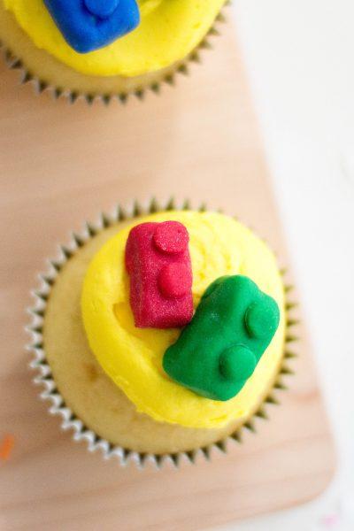 Lego Themed Birthday Cupcakes Recipe
