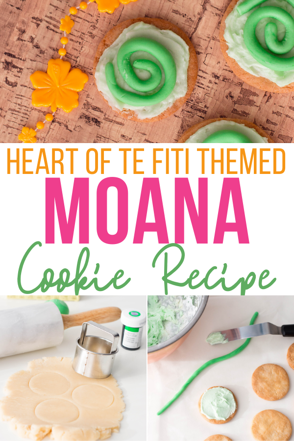 Heart of Te Fitit Moana Cookies