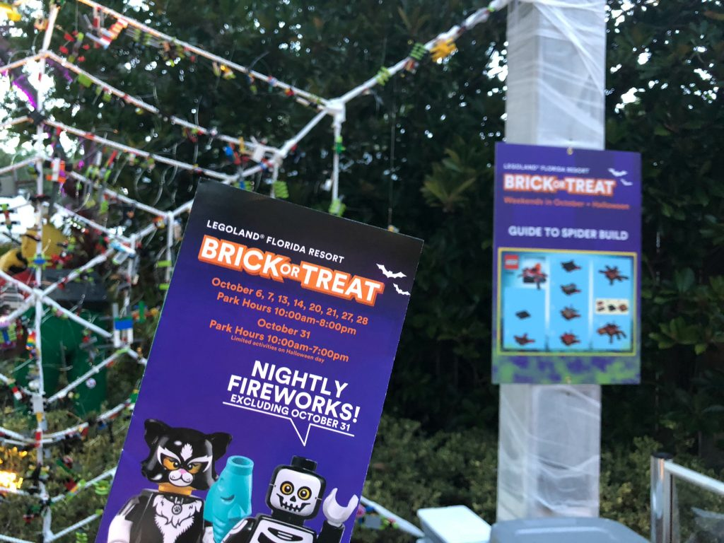 Brick or Treat Tips LegoLand Builds
