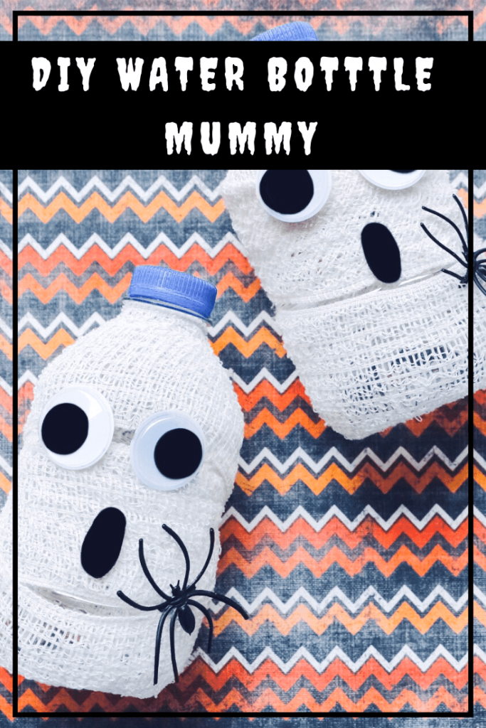 DIY Halloween Crafts Mummy