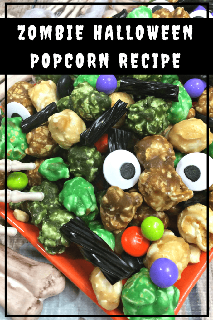 Zombie Halloween Popcorn