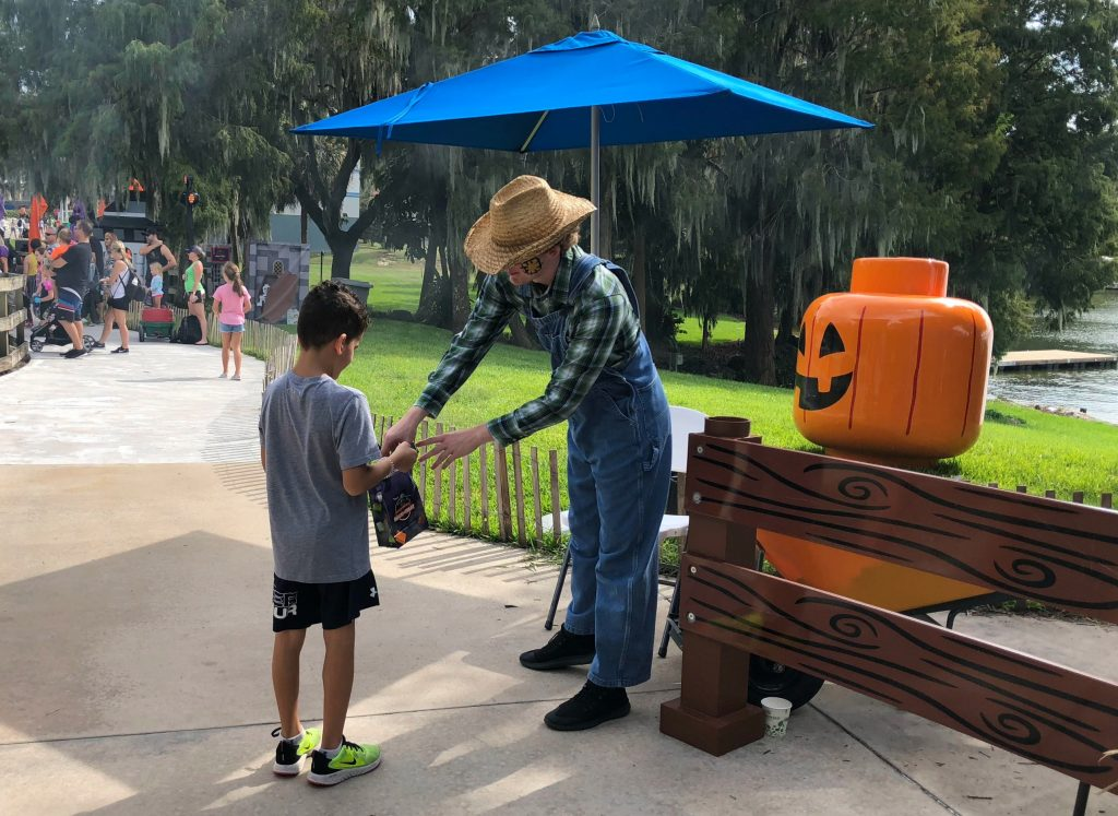 Trick or treating at LEGOLAND Florida
