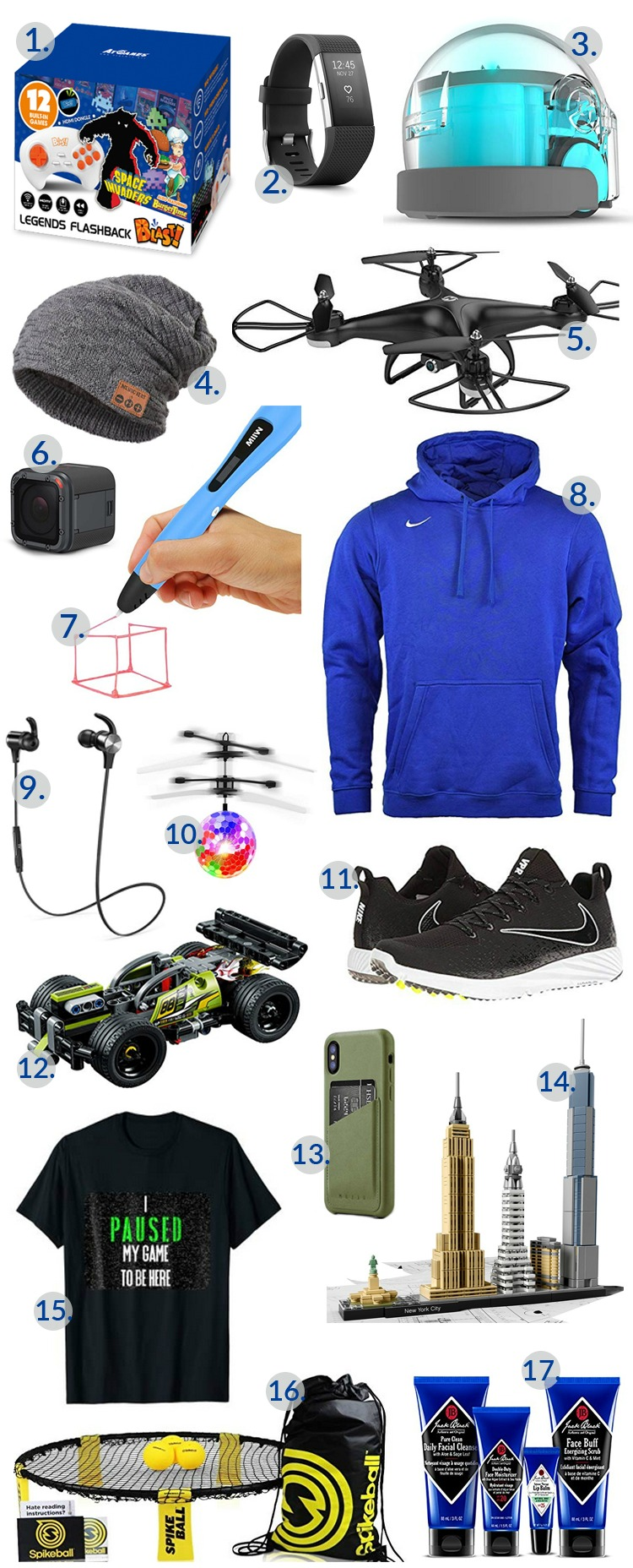17 Top Gift Ideas for Teen Boys on Your Shopping List