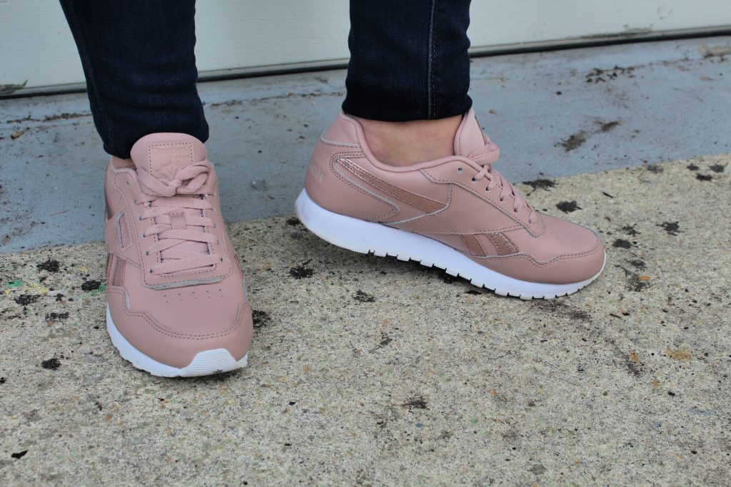 Reebok Sneakers in Rose Gold
