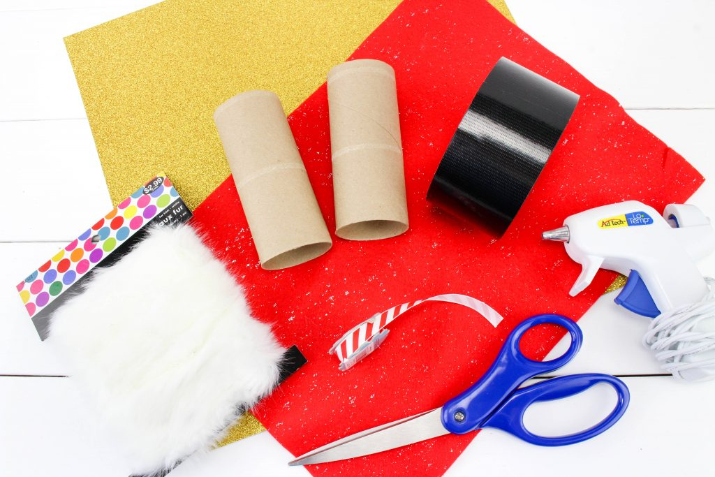 Santa Binoculars Christmas Craft Supplies
