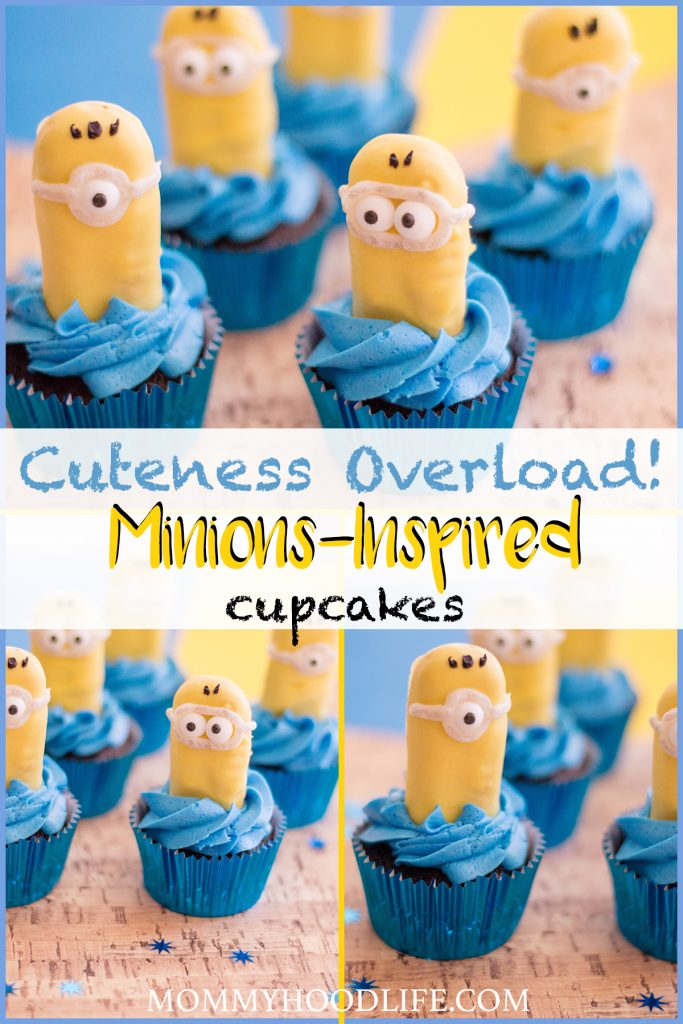 Minion Inspired Cupcakes Recipe