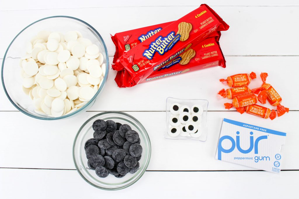 Ingredients to make Olaf Cookies