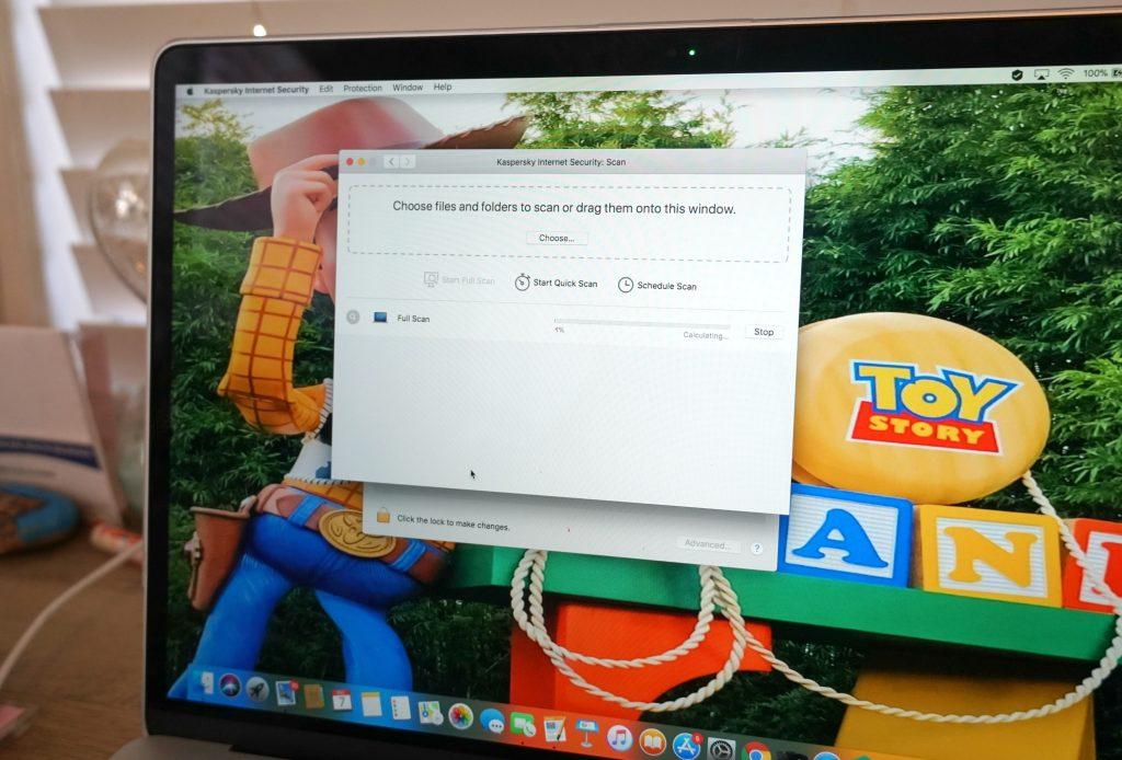 Kaspersky installing on computer