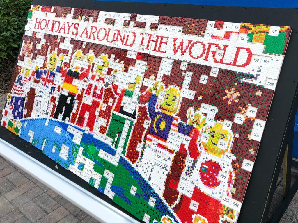 Legoland Florida Holiday Build