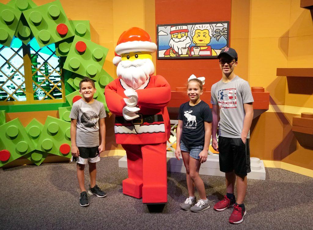 Santa at Legoland