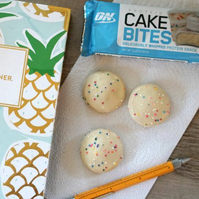 Cake Bites and Planner