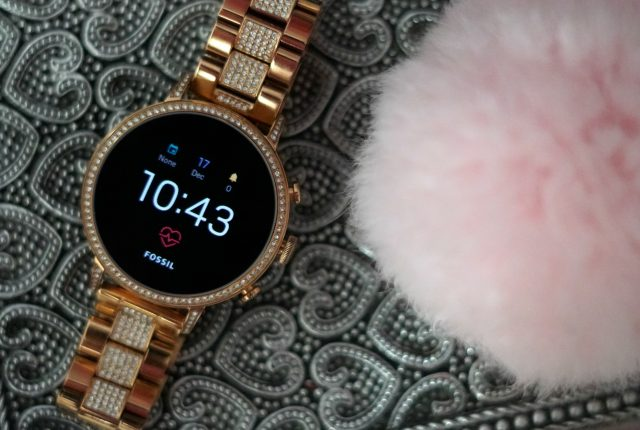 Smart Watch by Fossil Rose Gold