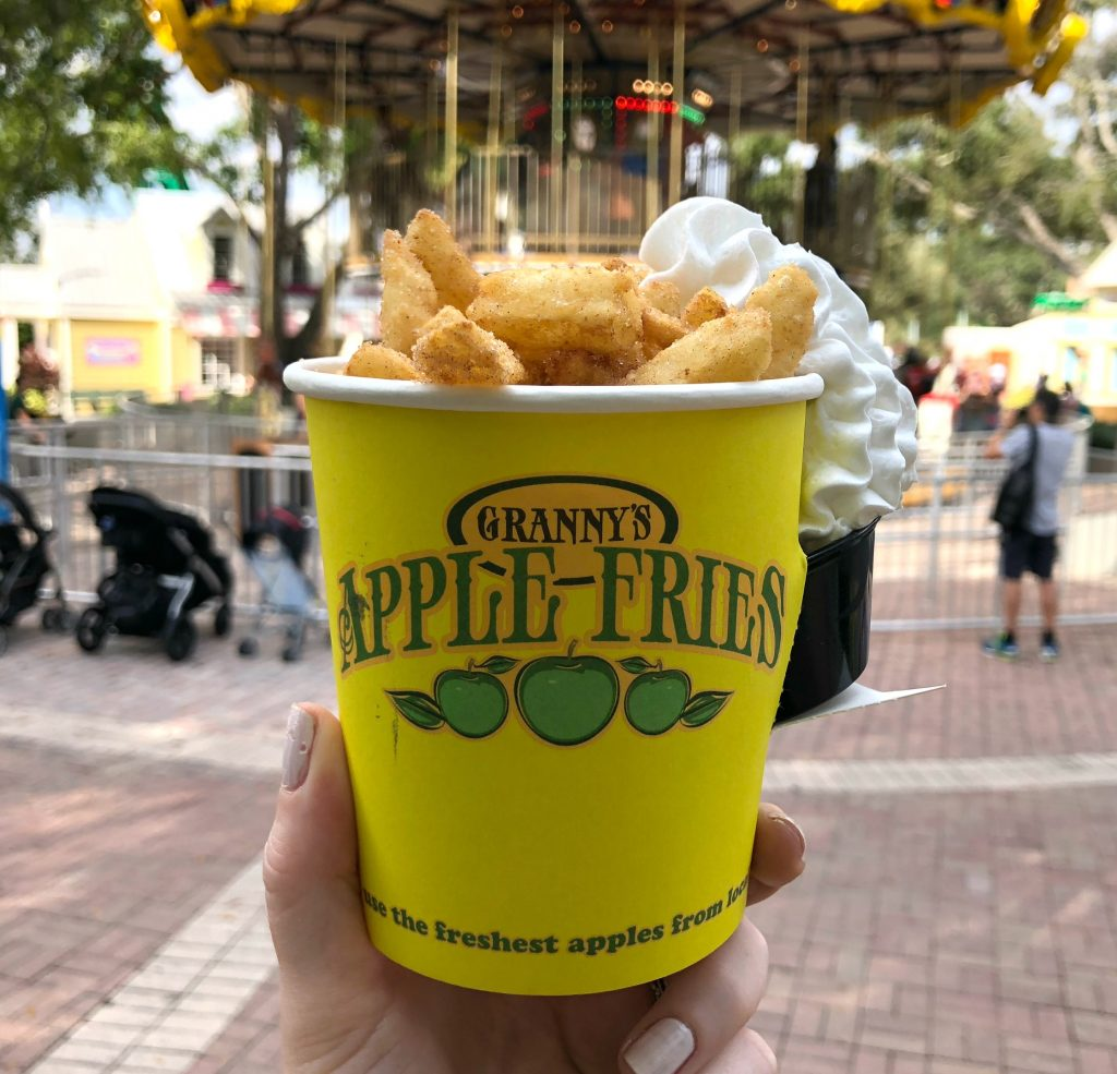 Legoland apple fries