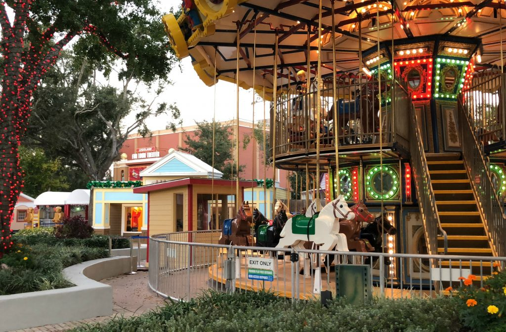 LEGOLAND Double Decker Carousel