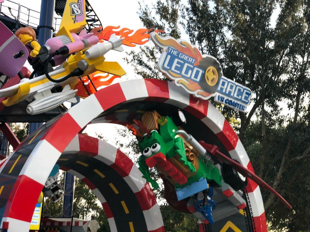 Legoland Florida VR Roller Coaster