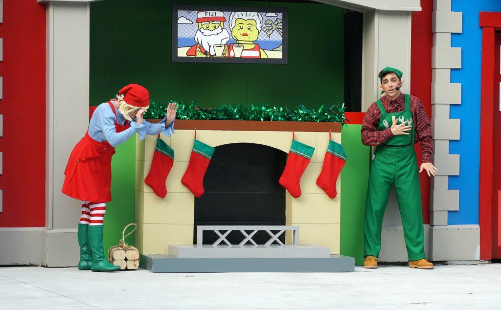 legoland holiday elf show