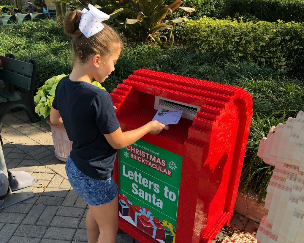 Legoland Letters to Santa