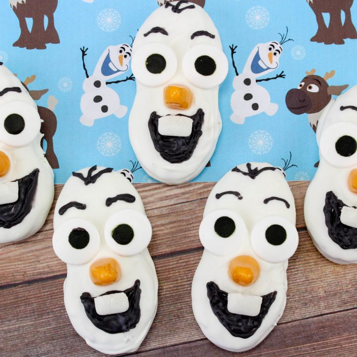 Olaf Nutter Butter Cookies Idea