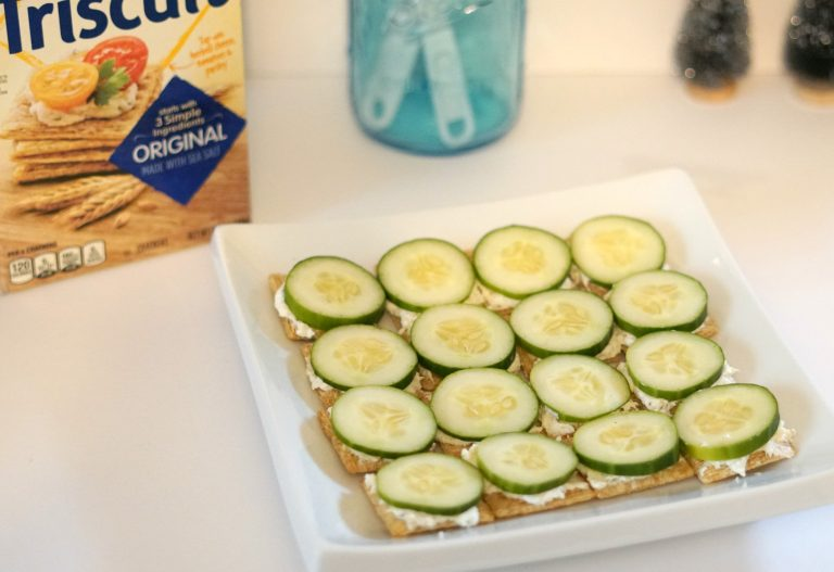 Easy Holiday Appetizer Recipe – Italian Cucumber Sandwiches